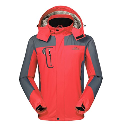 Price comparison product image GIVBRO Waterproof Jacket Mens Raincoats New Design Outdoor Hooded Lightweight Softshell Hiking Windproof Rain Jackets