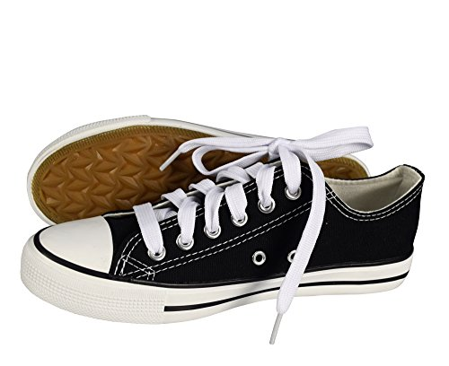 Peach Couture Casual Sneakers Low top Tennis Shoes White and Black