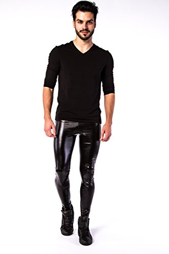 Buy sexy leather pants for men