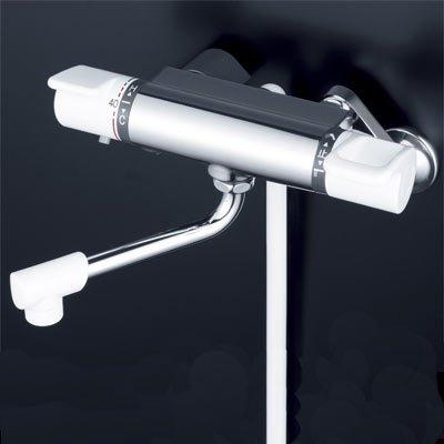 [KF880R2]KVK 栓金具 サーモスタット式シャワー 水栓 ケーブイケー 240mmパイプ付 B00Q6E6FWQ