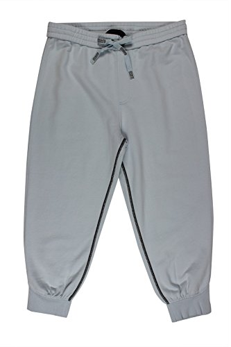 Marc by Marc Jacobs Women's Light Blue Cropped Sweatpants, MD x (Marc Jacobs Cropped)