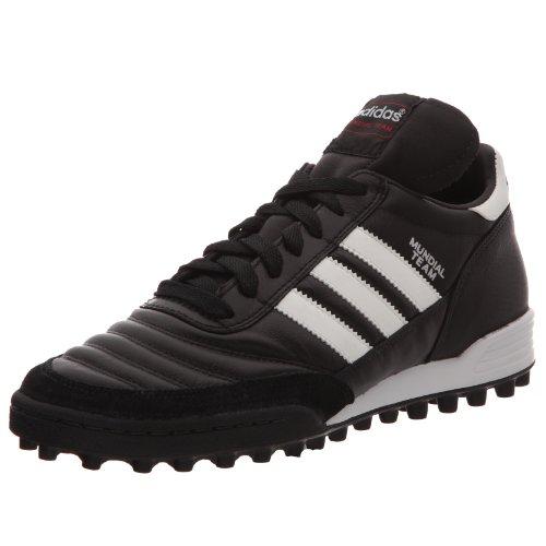 adidas Mundial Team, Unisex-Erwachsene Fußballschuhe, Schwarz (Black/Running White Ftw/Red), 39 1/3 EU (6 Erwachsene UK)
