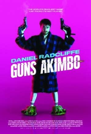 Guns Akimbo – Daniel Radcliffe – U.S Movie Wall Poster Print ...