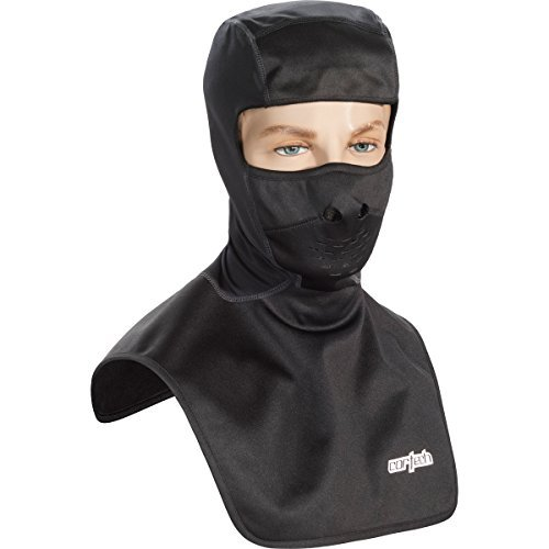 Cortech Journey FC Adult Balaclava Winter Sport Snowmobile Helmet Accessories - Black / One Size Fits Most by Cortech (Image #1)