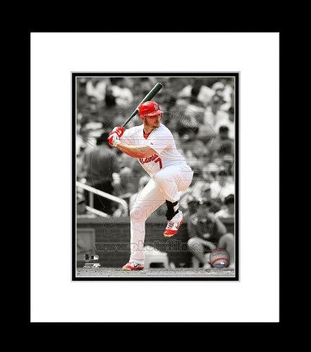 (St. Louis Cardinals Matt Holliday Spotlight Framed 8x10 Picture)