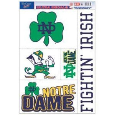 Dame Fighting Irish Ultra Decal Sheet, 11