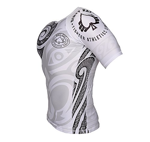 Dirty Compression Tattoo Rg4 Tribal shirt Martiaux Mma Homme Arts De Ray T Rashguard rxzra