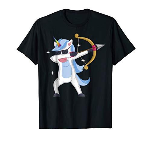 Archery Unicorn Shirt Dabbing T-shirt Archer Girl Gift