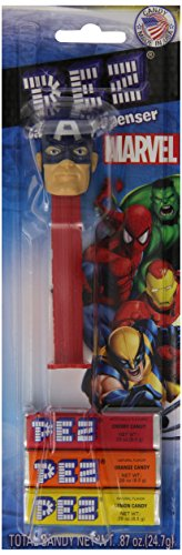 Price comparison product image Pez Marvel Assortment,  With Candy,  Net Wt. .87 oz.. (Assortments May Vary) (Pack of 6)