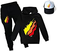 CFC PrestonPlazy Childrens Three-Piece Trousers Hoodies and Sunhat Suit, Hoodie and Jogger Suit, Tracksuit