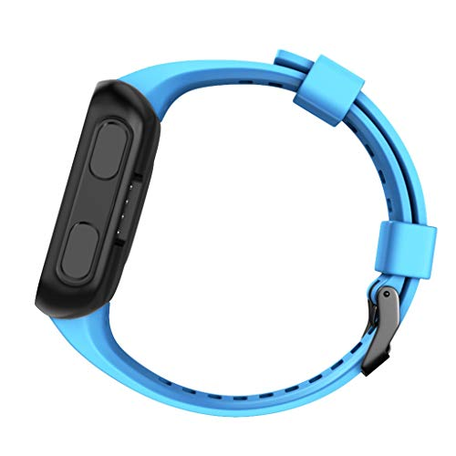 - Replacement Band for Garmin Forerunner 35, Silicone Replacement Fitness Bands Wristbands Sports Strap (Sky Blue)