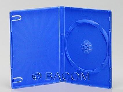 50 Estuches para un DVD Azul - Qtecx: Amazon.es: Electrónica
