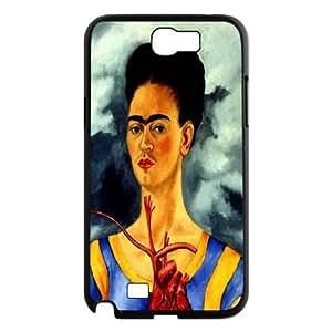 Personalized Frida kahlo Phone Case, Customized Hard Back Case Cover for Samsung Galaxy Note 2 N7100 Frida kahlo