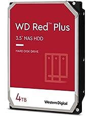 "$104 » Western Digital 4TB WD Red Plus NAS Internal Hard Drive HDD - 5400 RPM, SATA 6 Gb/s, CMR, 128 MB Cache, 3.5"" -WD40EFZX"