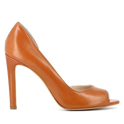 Evita Shoes Belina - Zapatos de vestir de Otra Piel para mujer marrón claro