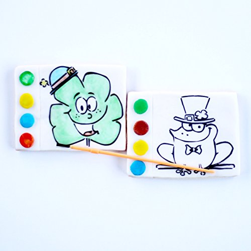 1 St. Patrick's Day Paint Your Own Cookie. Read Listing for ALL designs