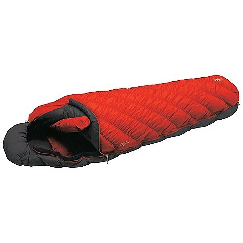 MontBell U.L. Super Spiral Down Hugger 0 Degree Sleeping Bag Sunrise Red Regular / Left Zip, Outdoor Stuffs