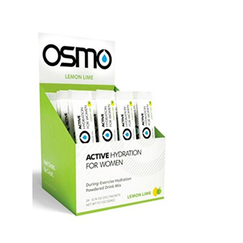 OSMO Nutrition Active Hydration for Women, Lemon Lime, 24 Count