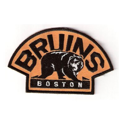 Boston Bruins with Bear Team Logo Shoulder Jersey Patch ()
