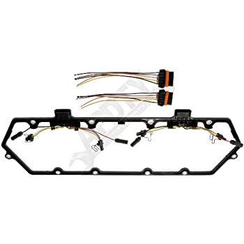 417Wk14FX4L._SL500_AC_SS350_ amazon com apdty 726313 valve cover gasket kit w glow plug wiring  at crackthecode.co