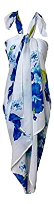 Women's Pareo Beach Sarong Swimsuit Cover Up Wrap Large and Soft