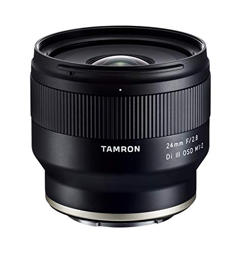 Tamron 24mm f/2.8 Di III OSD Wide Angle Prime Lens for Sony E Mount