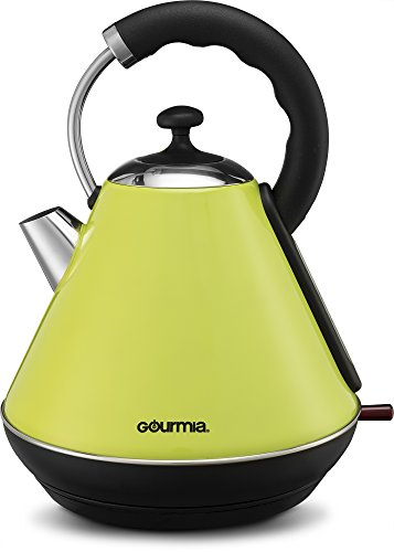 Best Electric Hot Water Kettle ~ Gourmia electric kettle modern stylish design stainless