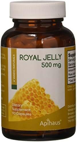 apihaus Royal Jelly, 500 mg, 180 Count