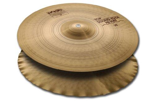 Paiste 2002 Medium Hi Hats - Paiste 2002 Classic Cymbal Sound Edge Top Hi-Hat 14-inch
