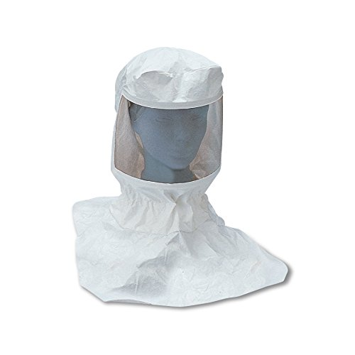 Allegro Industries 9910-10 Replacement Tyvek Supplied Air Respirator Hood with Suspension (Low Pressure only), (Standard Supplied Air Respirator)