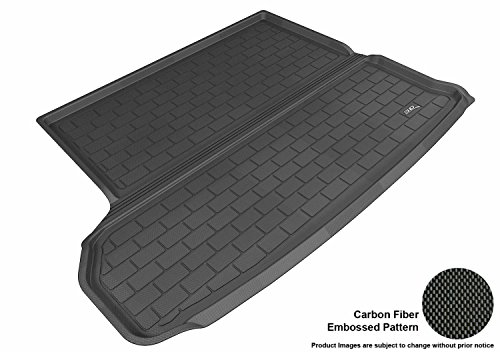 (3D MAXpider Custom Fit All-Weather Cargo Liner for Select Toyota Highlander Models - Kagu Rubber (Black))