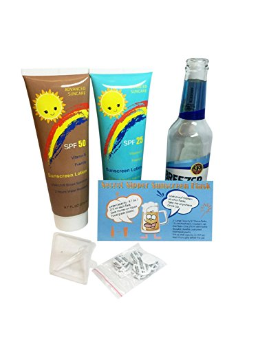 #1 Best 2 x 275 ml. Sunscreen Flask