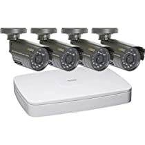 Q-SeeQC304-4B5-5 4-Channel Digital Video Recorder with 4 Cameras for Surveillance Systems