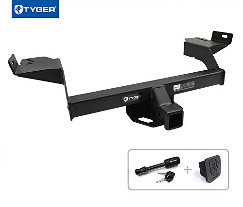 Tyger Auto TG-HC3F0048 Trailer Hitch (Class 3 Combo with 2' Receiver Cover and Pin Lock for 2013-2018 Ford Escape)