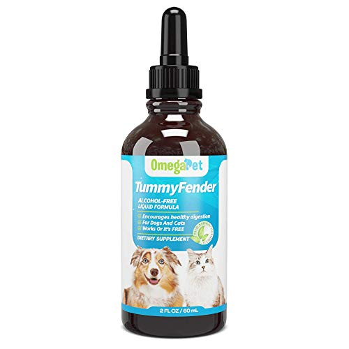 OmegaPet Liquid Dewormer for Cats and Dewormer for Dogs - Chemical-Free Dog Dewormer - Perfect for Tapeworm Prevention and More - Made with Organic Herbs (Cats)