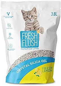 Fresh Flush SILICA GEL CAT LITTER FRESH LEMON 3.8L