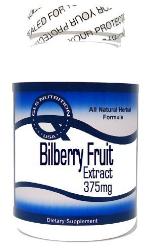 Bilberry Fruit Extract 375mg 100 Capsules ^GLS by (375 Mg 100 Capsules)