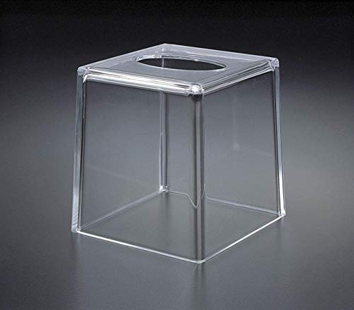 Huang Acrylic Acrylic Lucite Boutique Tissue Box Holder Cover