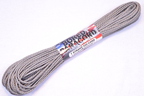 BoredParacord Brand Paracord/Parachute Cord 7-Strand, 550 Lb. Break Strength Guaranteed U.S. Made, Type III - ACU Digital (100 feet) by BoredParacord (Image #2)