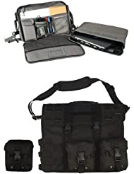3131 MOLLE Tactical Computer Briefcase Black