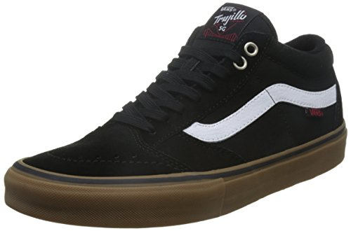 3462bb4a64 Vans TNT SG Womens 10 Mens 8.5 Black White Gum Men s Skate Shoes - Buy  Online in UAE.