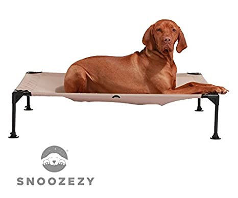 Snoozezy Cama elevada para mascotas Soporte ortopédico para perros y gatos que sufren de artritis y