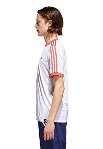 adidas Originals Herren T-Shirt Clima Club JERS CF5801 Weiß