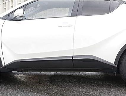 Yueng ABS Chrome Side Door Body Molding Cover Trim Decor 1 Set