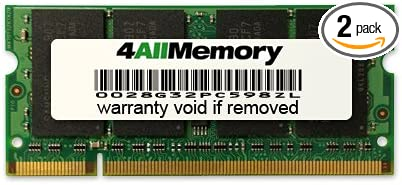DDR2-667 8GB 2x4GB RAM Memory Upgrade Kit for The Sony VAIO VGN CR525 PC2-5300