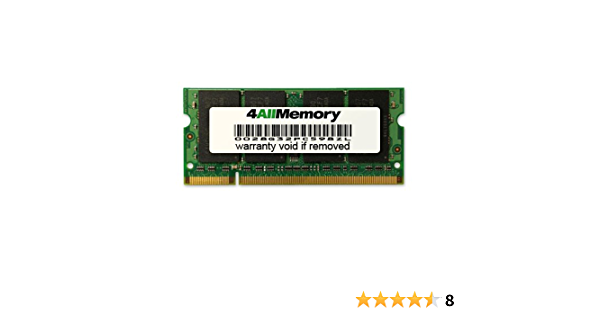 PC2-6400 1GB DDR2-800 RAM Memory Upgrade for The Compaq//HP CQ60 Series CQ60-127EL Notebook//Laptop