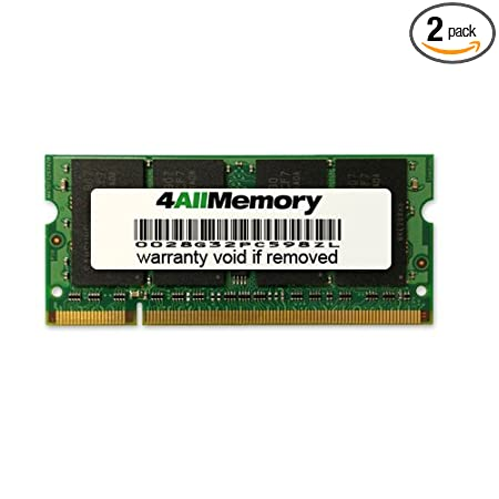 4gb kit [2x2gb] ram memory upgrade for lenovo thinkpad t61 (ddr2.
