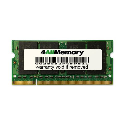 2GB [2x1GB] DDR2-667 (PC2-5300) RAM Memory Upgrade Kit for the Apple MacBook 2.0GHz Intel Core Duo (13-inch, Black)