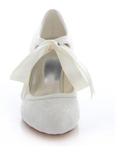 Mujer boda Boda de GGX Punta Fiesta 4in 3 y Marfil 2 Tacones ivory 2in Morado Noche Blanco 4in 2 Redonda Tacones Vestido 2in Zapatos purple 3 FCqEw5qZ