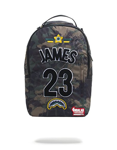 Sprayground NBA LAB LeBron James Tie Dye Patches Backpack by Sprayground